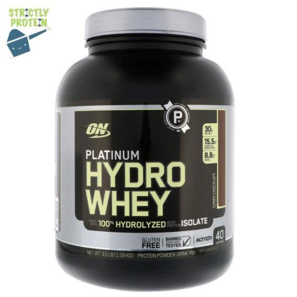 Buy 3.5 lbs, Platinum HydroWhey, Hydro Whey, Optimum Nutrition, Whey Protein, Protein Powder Singapore