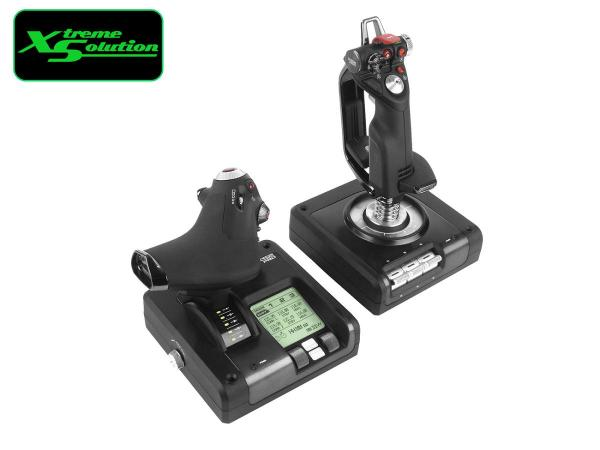 Logitech X52 PROFESSIONAL H.O.T.A.S. THROTTLE AND FLIGHT STICK SIMULATION CONTROLLER Singapore