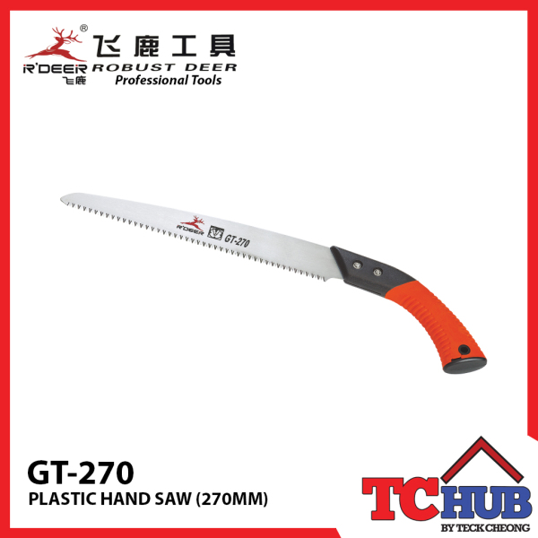 Robust Deer GT-270 Plastic Hand Saw