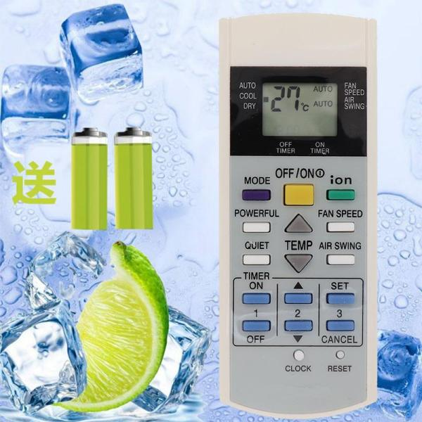 Origional Product Panasonic Air Conditioning Remote Control A75C3299 A75C2600 2602 2606 2632 2656