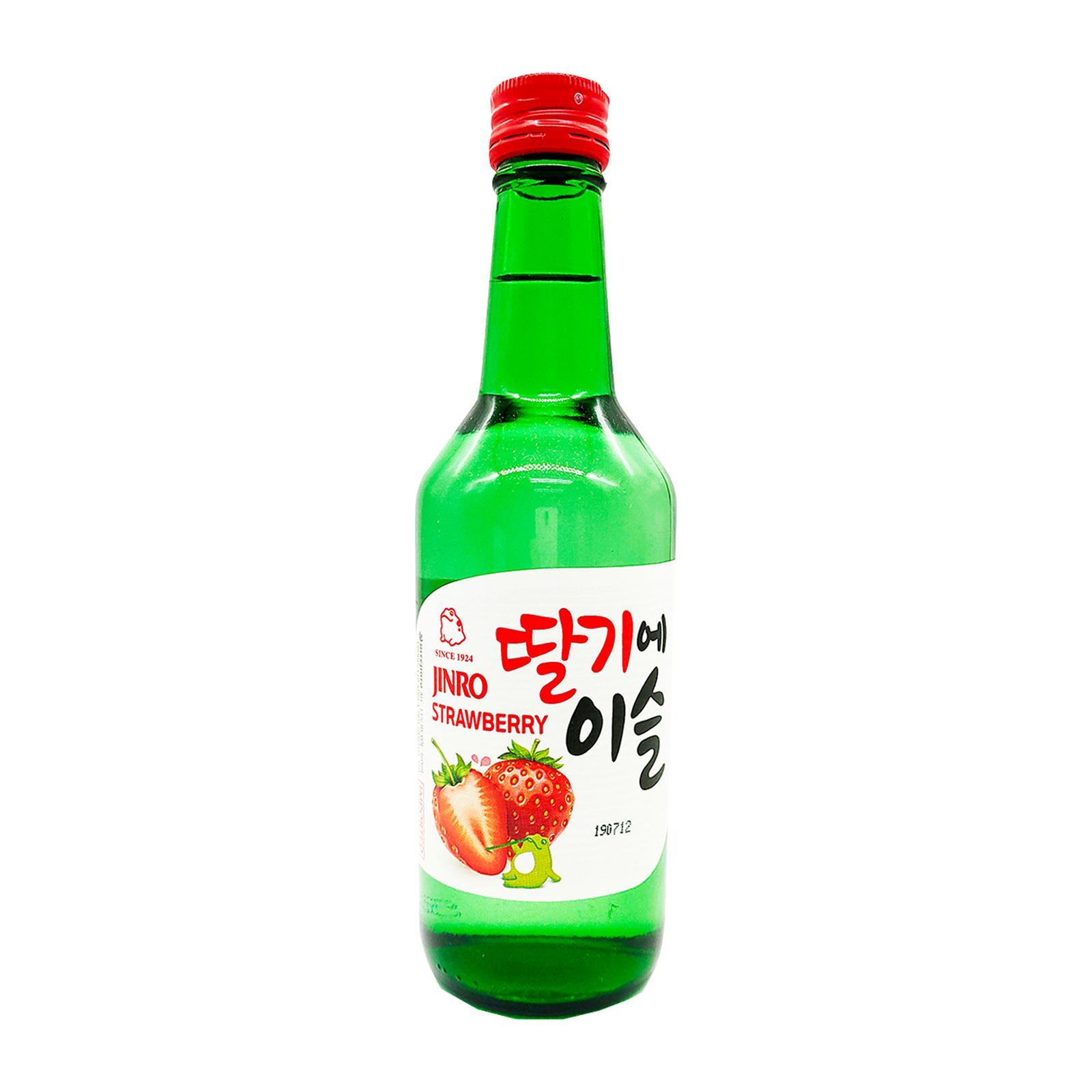 Jinro Strawberry 360ml Bottle Soju