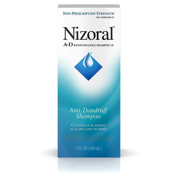 Buy Nizoral A-D Anti-Dandruff Shampoo 7 Fl. Oz Itchy Scalp Dandruff Treatment w/ Ketoconazole 1% Singapore