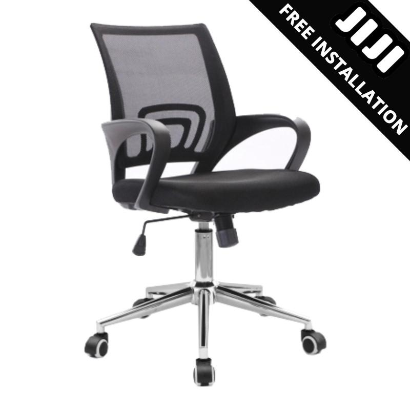 JIJI Typist Office Chair (Free Installation) - Office chair/Study chair/Gaming chair/Ergonomic/ Free 12 Months Warranty (SG) Singapore