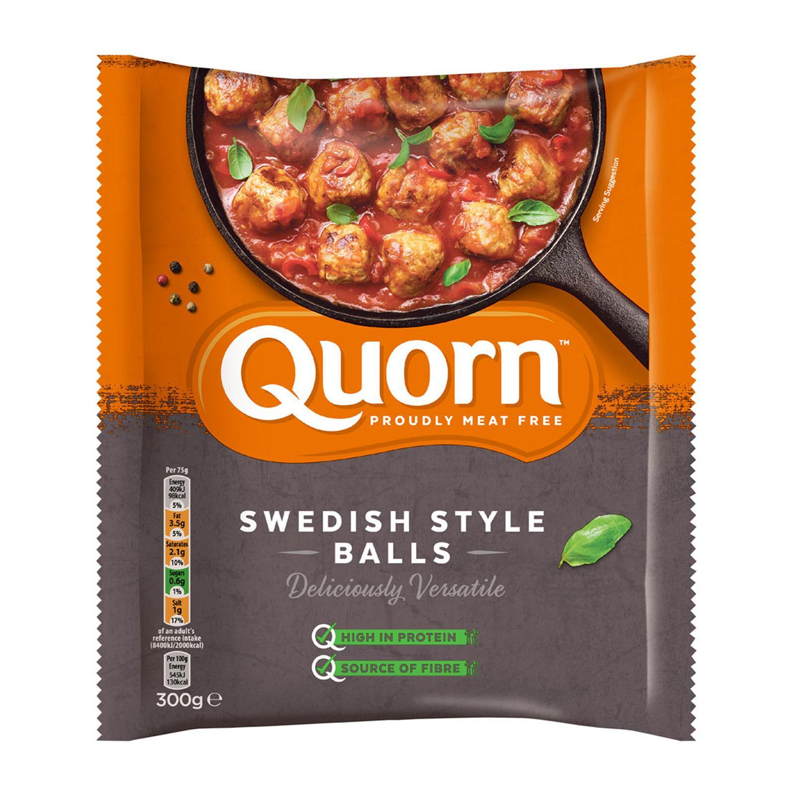 Quorn Swedish Style Balls - Frozen By Redmart.