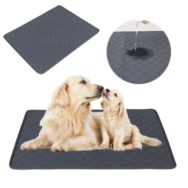 WENBA64 Chất liệu dày hơn Chống trượt Giường của chó Có thể tái sử dụng Dành cho chó nhỏ, trung bình, lớn Bô chó Tấm lót cho thú cưng Mat thấm Pad huấn luyện chó Đồ cho chó