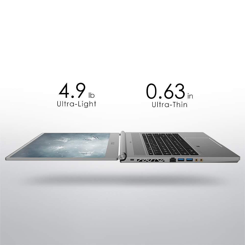 MSI P65 Creator-1084 15.6  4K UHD Display, Ultra-Thin and Light, RTX Studio Laptop, Intel Core i7-9750H, GeForce RTX 2060, 32GB DDR4, 1TB Teton Glacier SSD, Win10PRO, VR Ready