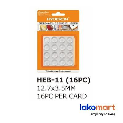 Hyderon Silicone Adhesive Clear Pads  | Clear BumperDoorCabinet BumperAnti Scratch