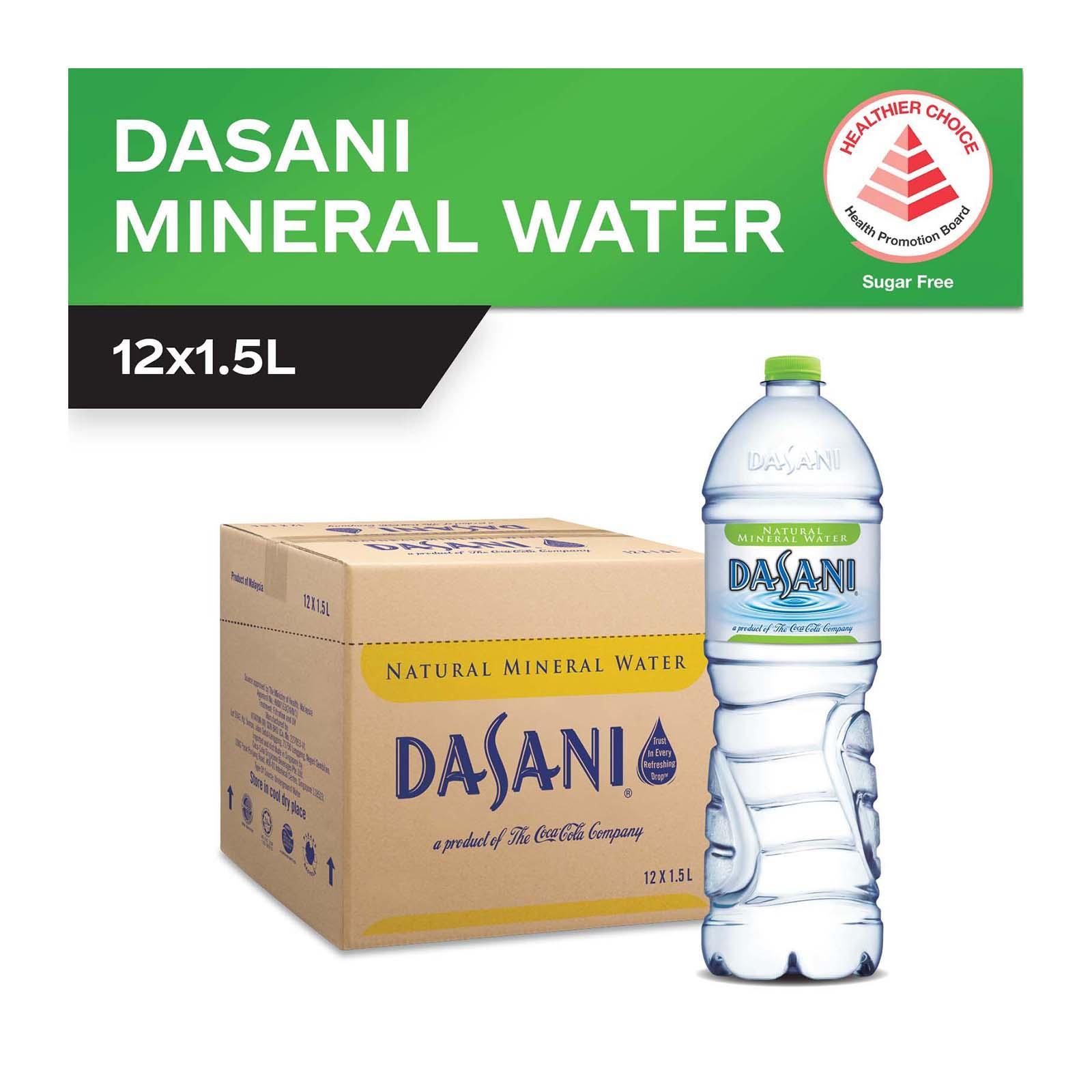 Dasani Mineral Water - Case