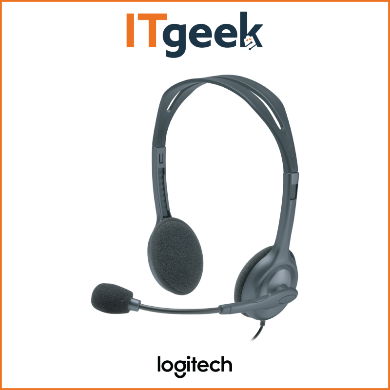 (2HRS DELIVERY) Logitech H111 Stereo Headset Singapore