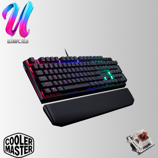 CoolerMaster Masterkeys MK750 RGB Gaming Keyboard ( CHERRY RED / CHERRY BROWN / CHERRY BLUE ) (2Y) Singapore