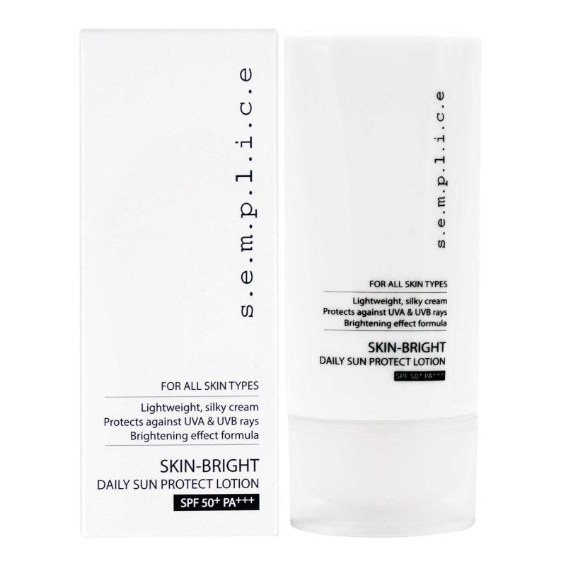 Buy s.e.m.p.l.i.c.e. Skin-Bright Daily Sun Protect Lotion SPF50+ PA+++ 50ml Singapore