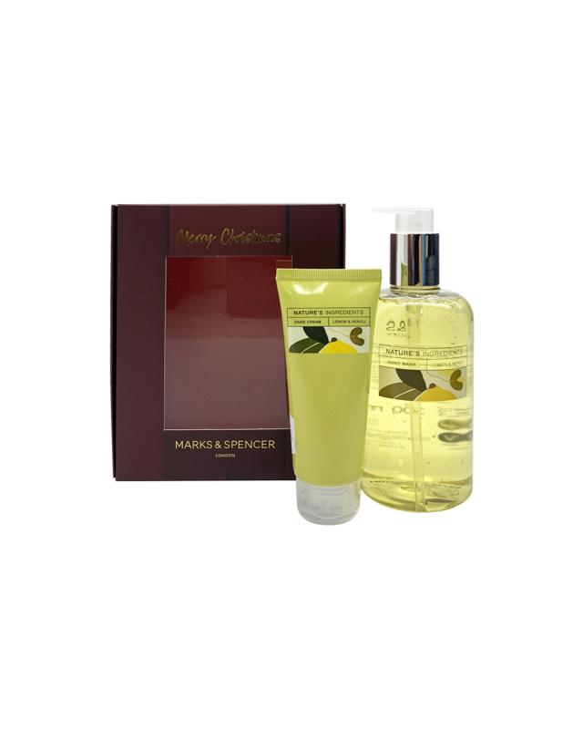 Buy M&S Lemon Neroli Hand Wash & Hand Cream Set Singapore