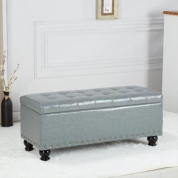Shoe Trying Stool Sofa Stool Foot Strip Storage Box Bedside Shoes Footrest Family Double-seat Sofa Locker Simple
