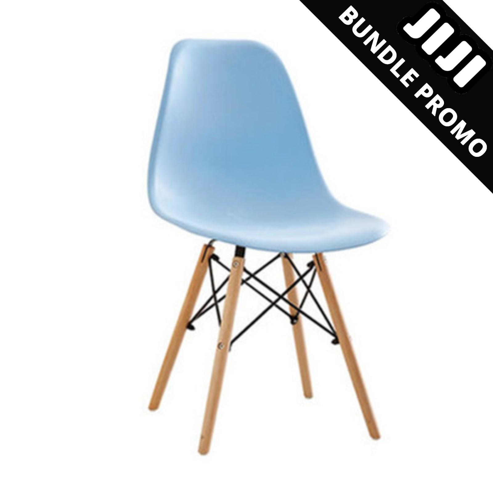 JIJI Bundle Promo of 2: Kids Size Eames Chair (1+1) - KIDS CHAIR★KIDS STUDY CHAIR★KIDS DINING CHAIR★BUY 1 GET 1 FREE (SG)