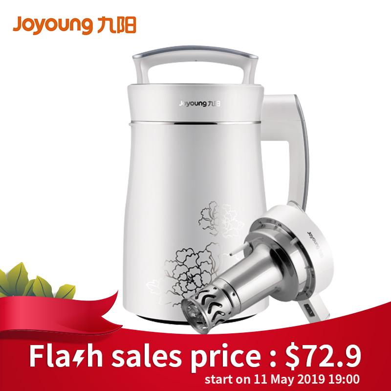 Joyoung Soymilk Maker Soybean Milk Machine Multi-Function 1300ml Dj13b-D08d Free Shipping 6 Months Warranty By Joyoung Official Store.
