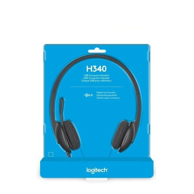 Logitech H340 USB Headset with Noise Cancelling Mic Singapore