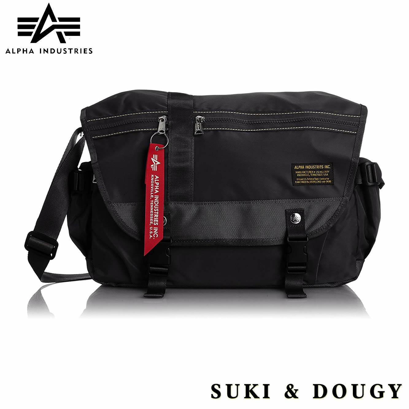 5525ee518dff  USA ALPHA INDUSTRIES  Japan Military Water Resistant Travel Unisex Crossbody  Bag