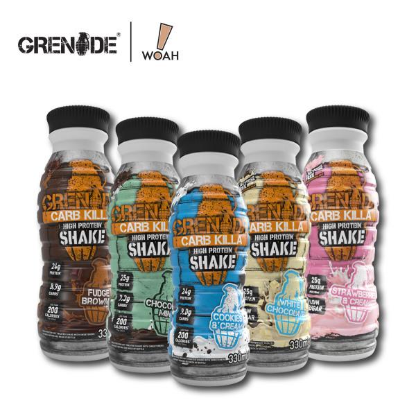 Buy Grenade Carb Killa® Protein Shakes (Case of 8) Singapore