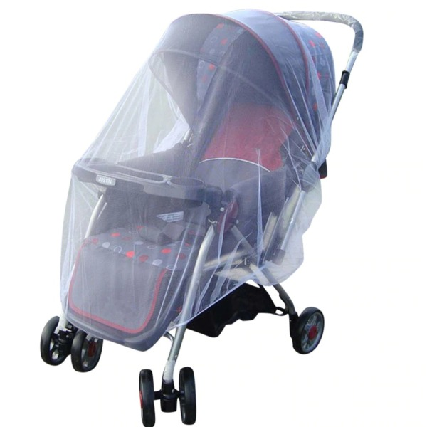 Baby Stroller Pushchair Mosquito Insect Shield Net Safe Infants Protection Mesh Stroller Accessories cart Mosquito Net B501244 Singapore