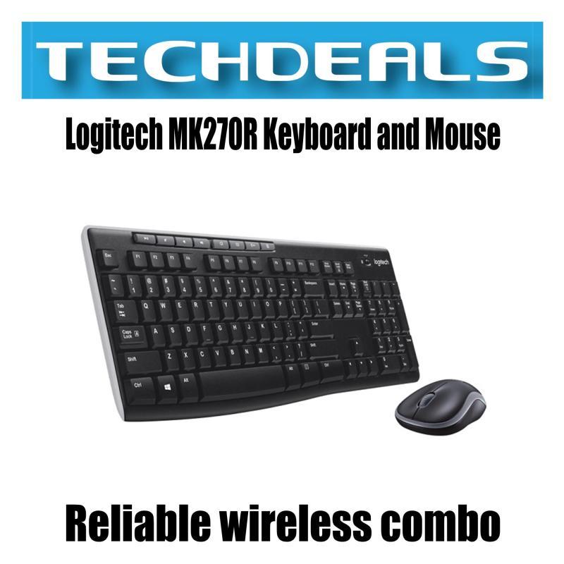 Logitech MK270R Keyboard and Mouse Wireless Combo Singapore