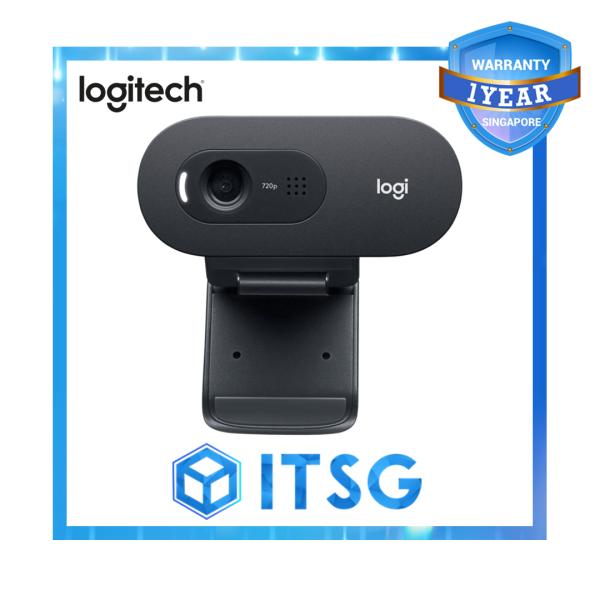 Logitech C505 720p HD Webcam with Long-Range Microphone - Local 1 Year Warranty