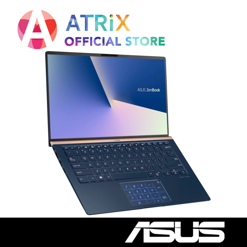 【Same Day Delivery】ASUS Zenbook UX433FLC-A5486T (latest WiFi 6 model) | 1.09Kg | 14.0 FHD | i7-10510U | 16GB RAM | 1TB PCIe SSD | Geforce MX250 Graphics | 2 Yrs ASUS International Warranty | Ready Stock,Ship out today!