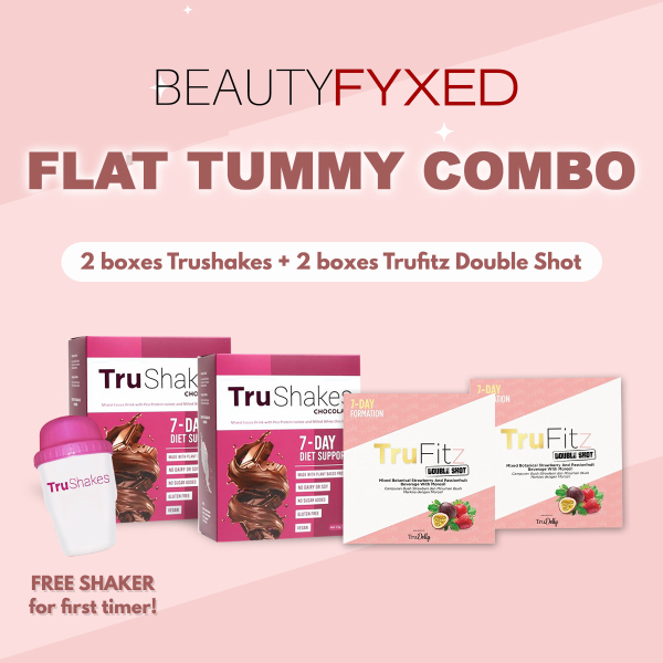 Buy [Combo!] x2 Trufitz Fat Burner + x2 Trushakes Meal Replacement - Major Weight loss Combo Singapore