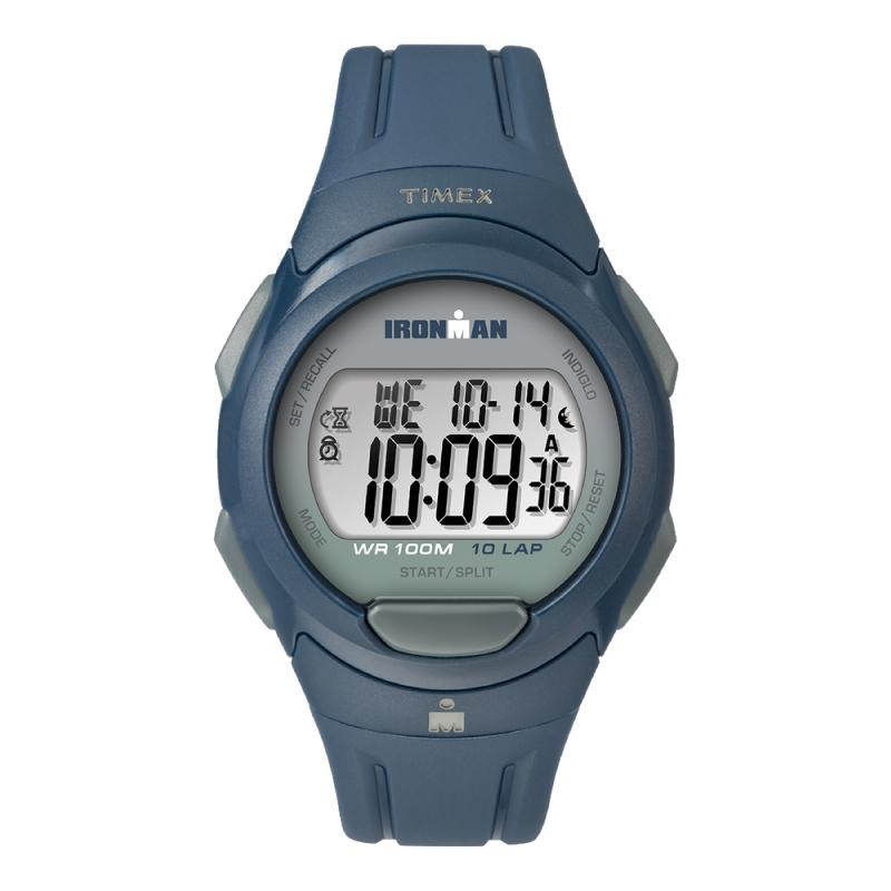 cec1a26f2 Timex Men's Ironman Essential 10 Full Size Resin Strap Watch TW5M16500