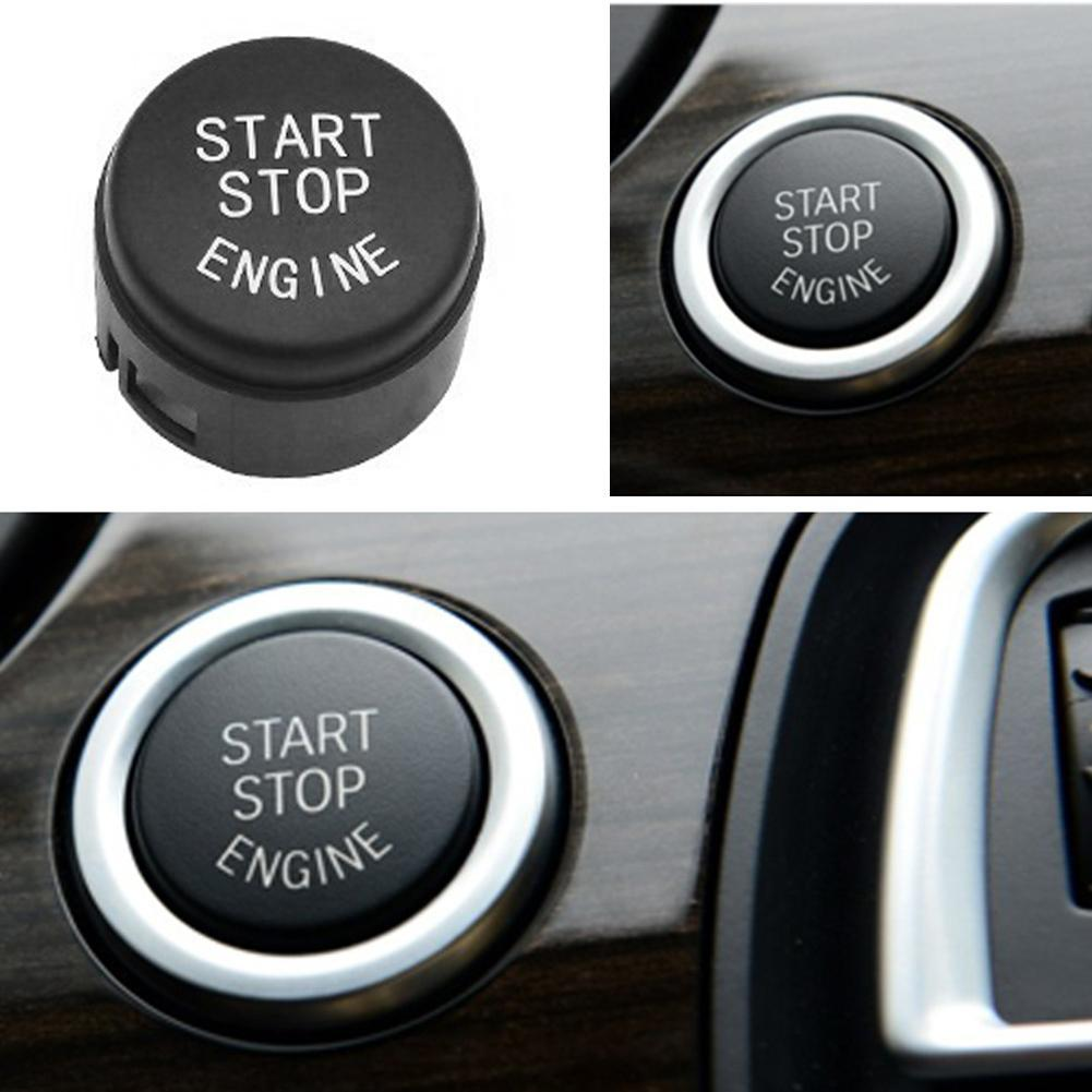 Motorcity Start Stop Engine Push Button Switch Cover for F01 F02 F10 F11  (Black)