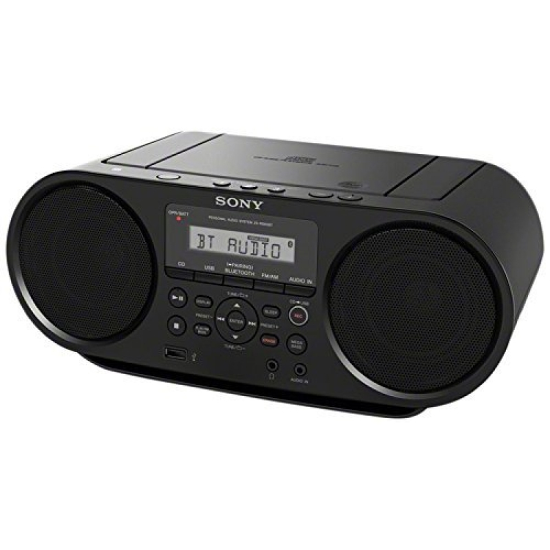 Sony Portable Bluetooth Digital Tuner AM/FM Radio Cd Player Mega Bass Reflex Stereo Sound System Plus FSM 6ft Aux Cable to Connect Any Ipod, Iphone or Mp3 Digital Audio Player Singapore