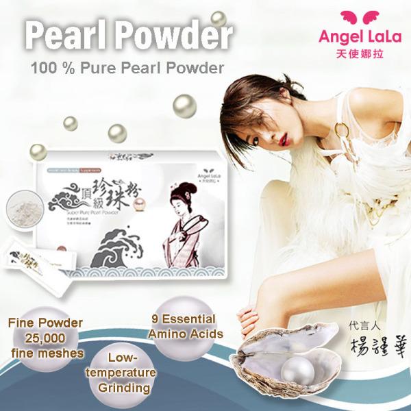 Buy Taiwan No.1 Angel LaLa Super Pure Pearl Powder. Consumption Grade/Beauty Complexion/Award Winning Singapore