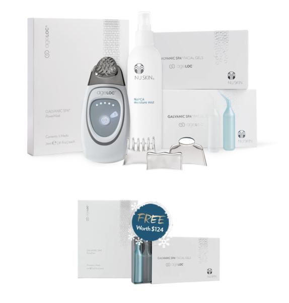 Buy Pre-order [ageLOC Galvanic Face Spa Pack] ETA: 1 week Singapore