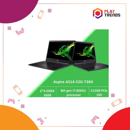 Acer Aspire 5 A514-52G-736H with 8th Gen Intel i7-8565U processor by PlayTrends