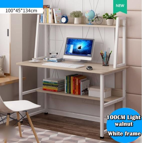 Scandinavian Study table with shelves / Space-Saving / Productive Home Furniture / Desk / BEST PRICE