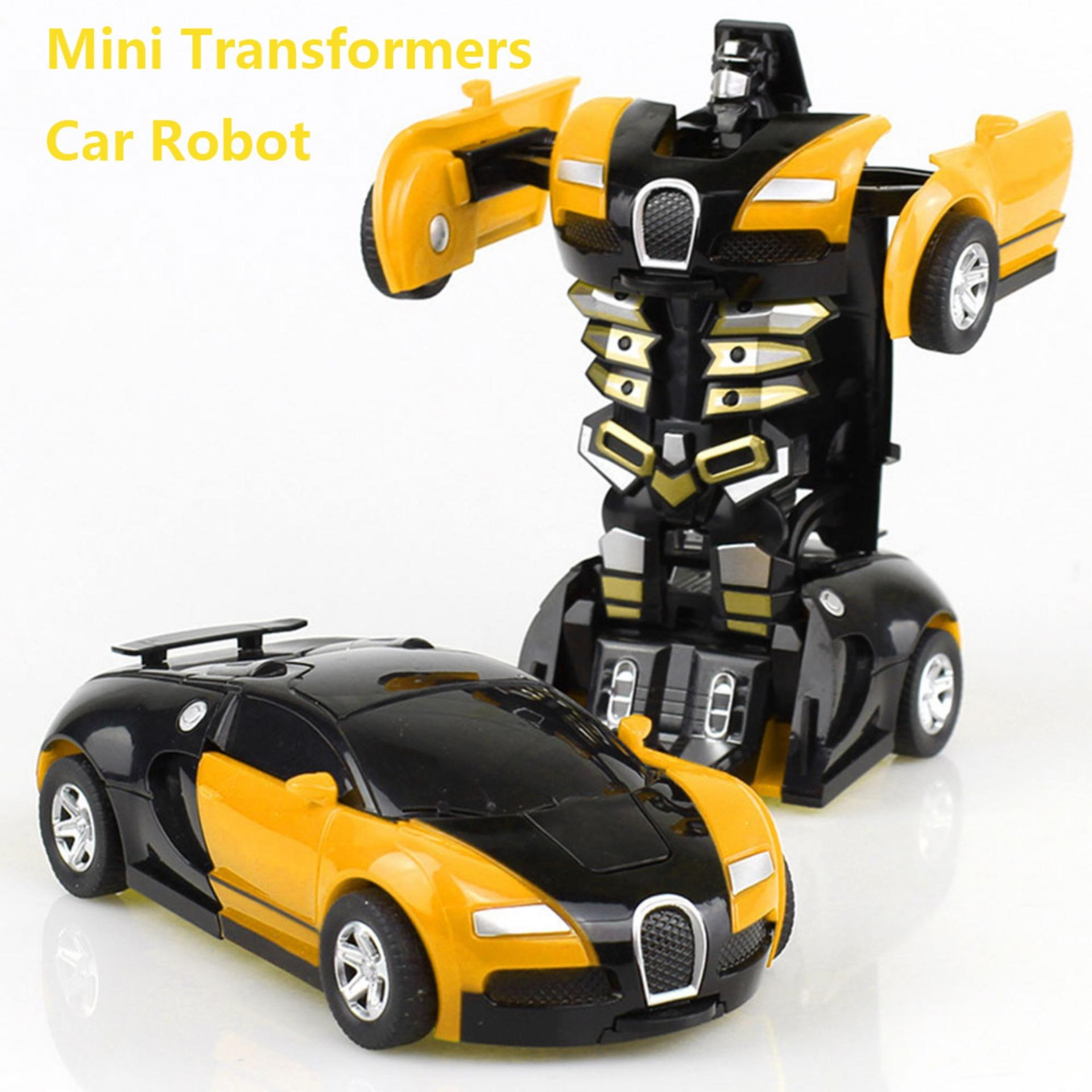 Transformers Car,rescue Bots Deformation Transformer Car One-Step Car Robot Vehicle Model Action Figures Toy Transform Car For Kids By Kobwa Direct.