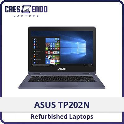 [Refurbished] ASUS TP202N: VivoBook Flip 12 / Intel® Pentium / 4GB RAM / 64GB EMMC / Windows 10 / One Month Warranty