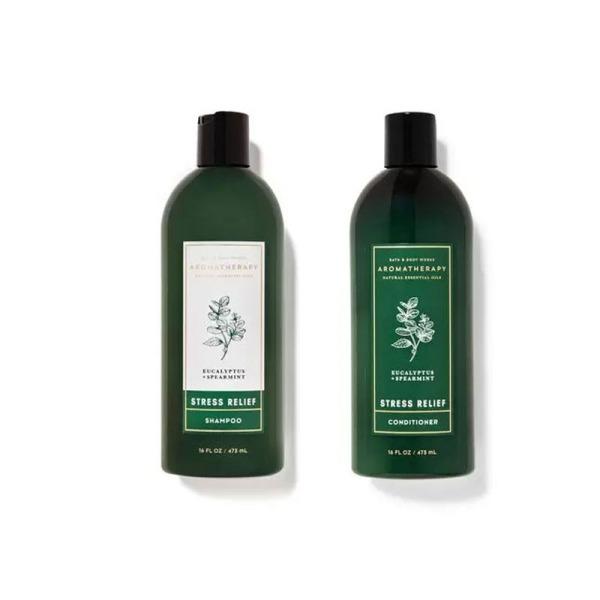 Buy Bath & Body Works : BUNDLE DEAL!!! Aromatherapy Stress Relief - Eucalyptus Spearmint Shampoo and Conditioner - Bath and Bodyworks Singapore