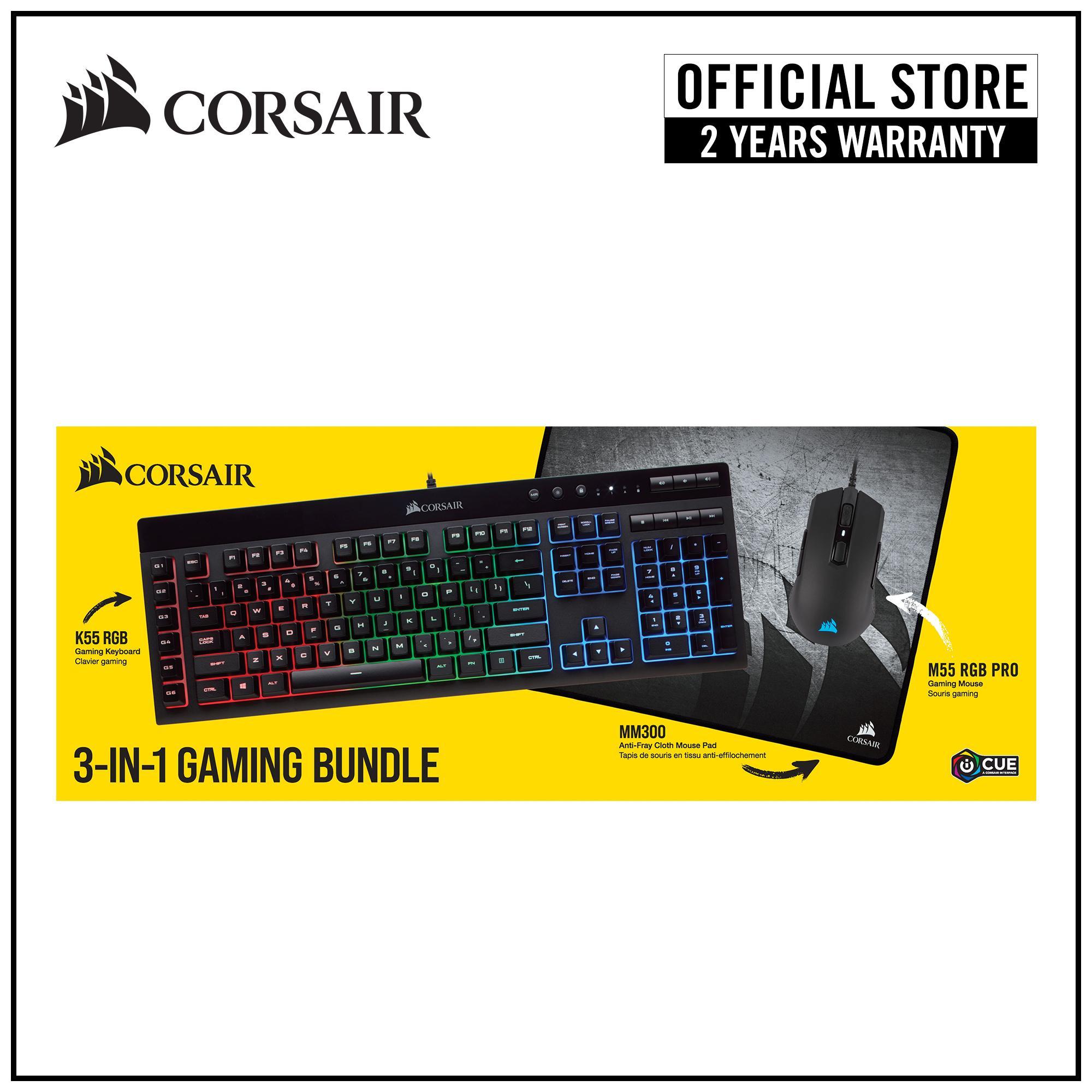 CORSAIR Starter Gaming Bundle (2019) Singapore