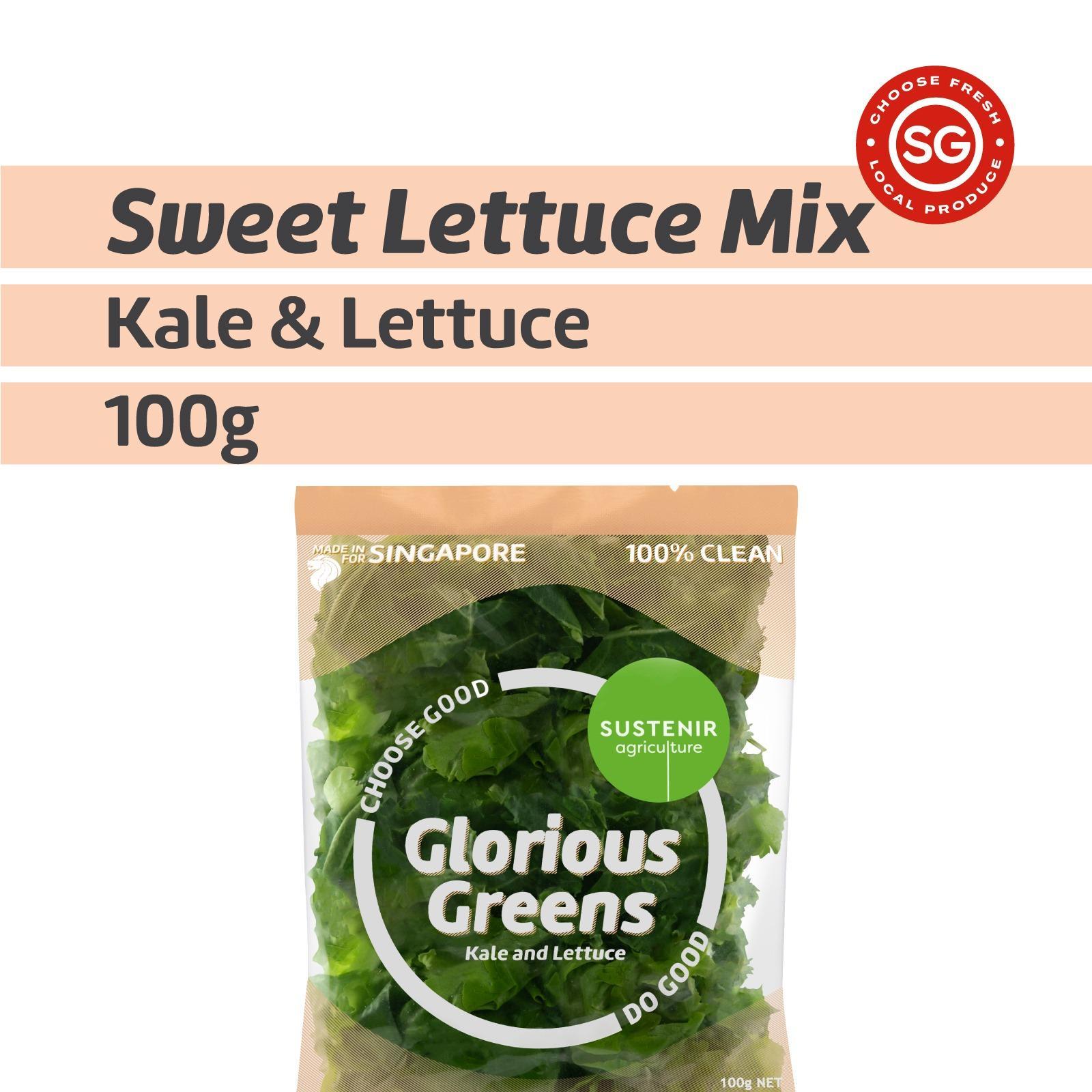 Sustenir Agriculture Glorious Greens Salad