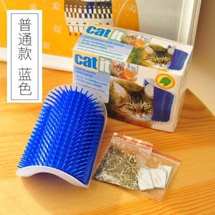 Catmi Petting Post Corner Self-Service Rub Hair Zhua Yang Toy Rub Face Scratch An Itch Massage Cat Scratch-Plate Supplies Cat By Taobao Collection.