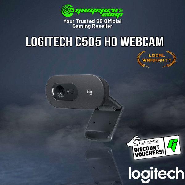 Logitech C505 HD Webcam 720P HD with Built-In Mic 960-001370 (2Y)