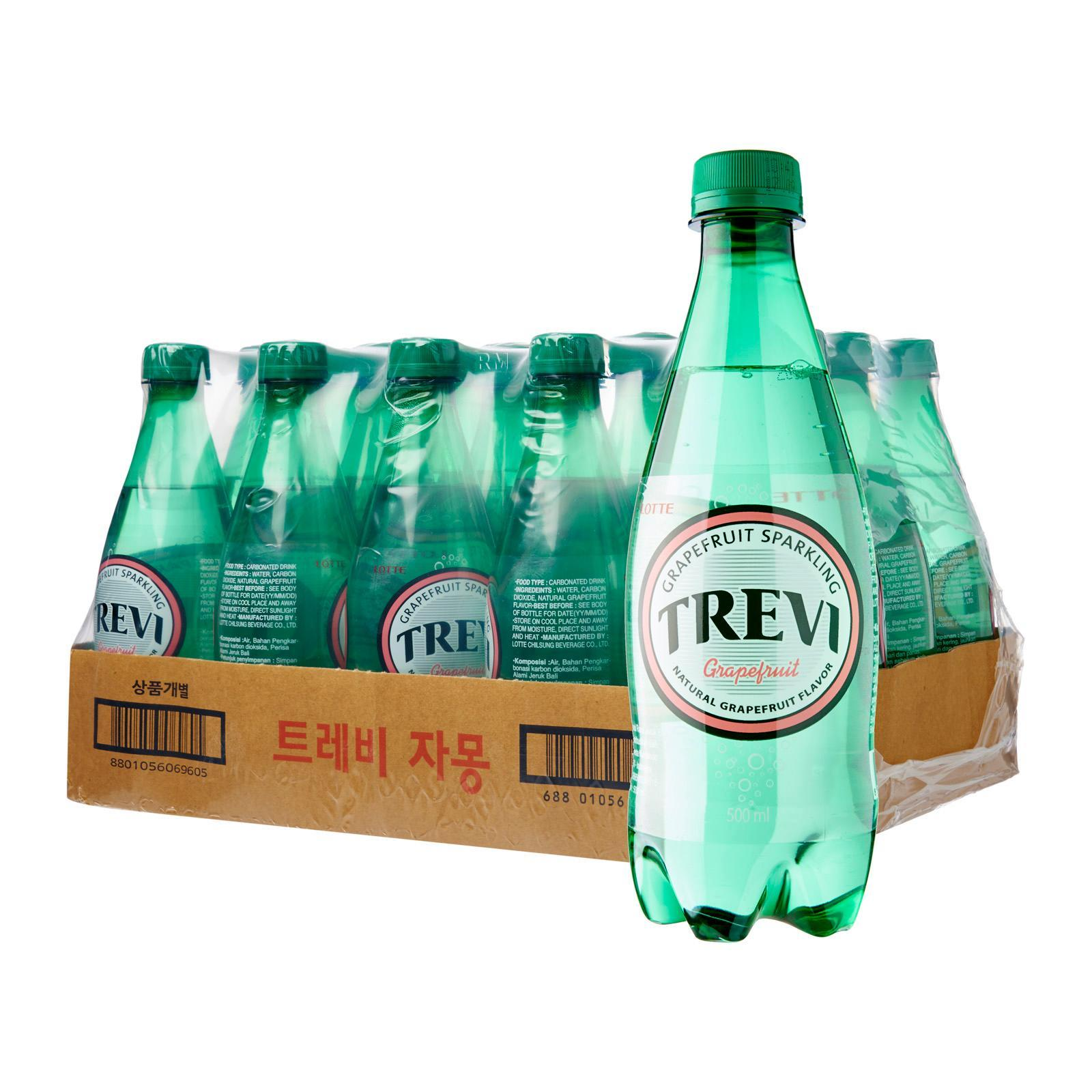 Lotte Chilsung Trevi Sparkling Water Grapefruit - Case
