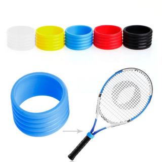 EIRDO Mềm Trọng lượng nhẹ Màu đen Bóng chày 5 cái Vòng tay cầm Ban nhạc tennis Tay cầm tennis Vợt cầu lông Vòng cao su thumbnail