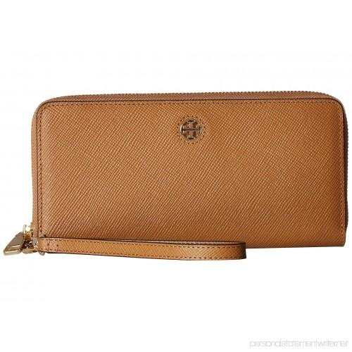 Tory Burch EMERSON ZIP PASSPORT CONTINENTAL WALLET (Tiger'sEye)