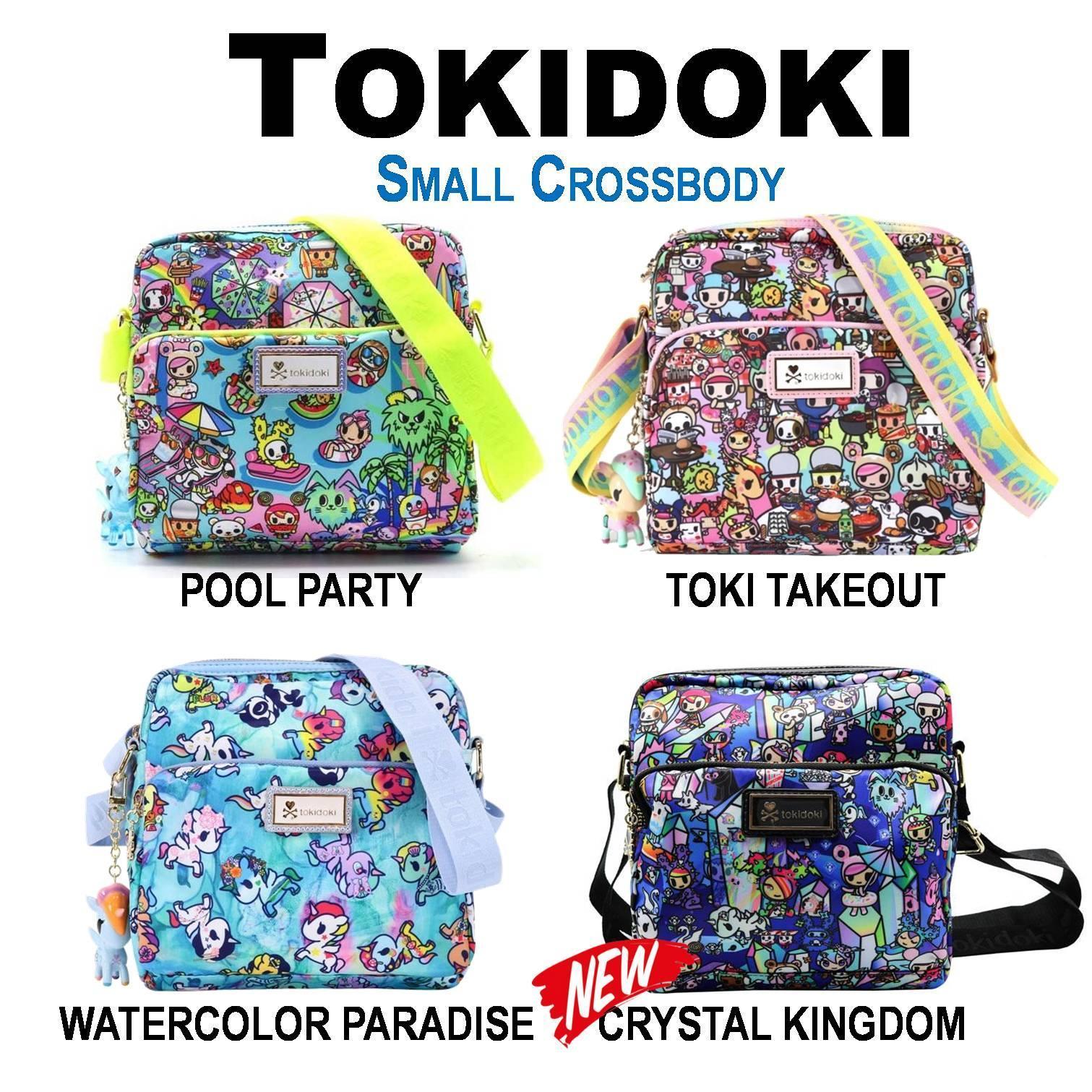 Tokidoki [ Pool Party . Toki Takeout . Crystal Kingdom ] Small Crossbody