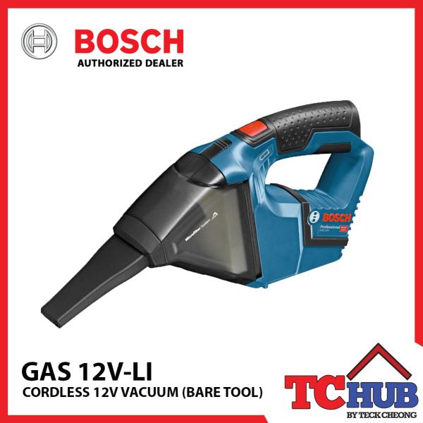 Bosch GAS 12 V-LI Cordless Vacuum (Bare Tool)