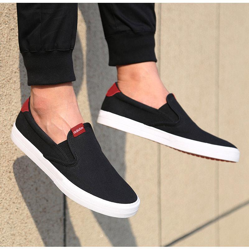 Adidas Giầy Nam 2020 Năm Mẫu Mới Chính Hãng Mùa Hè Giày Lười Một Giày Lười Lười Giày Giày Đế Bằng Giày Vải Bố