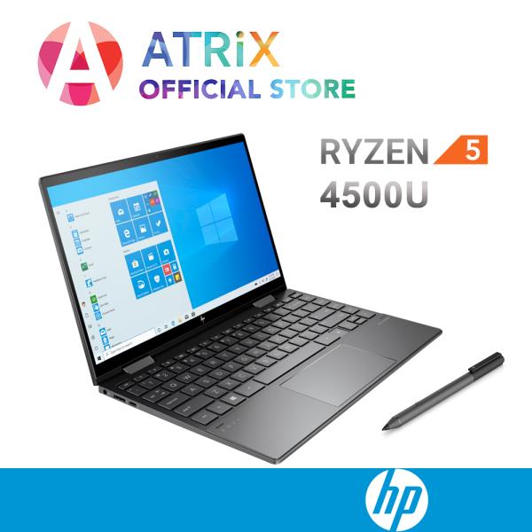 【Same Day Delivery】2020 HP ENVY x360 Convert 13-ay0008AU   13.3 FHD Touch 100% sRGB   Ryzen5 4500U   8GB RAM   512GB PCIe SSD   Radeon Graphics   1.31Kg   2Years HP Warranty