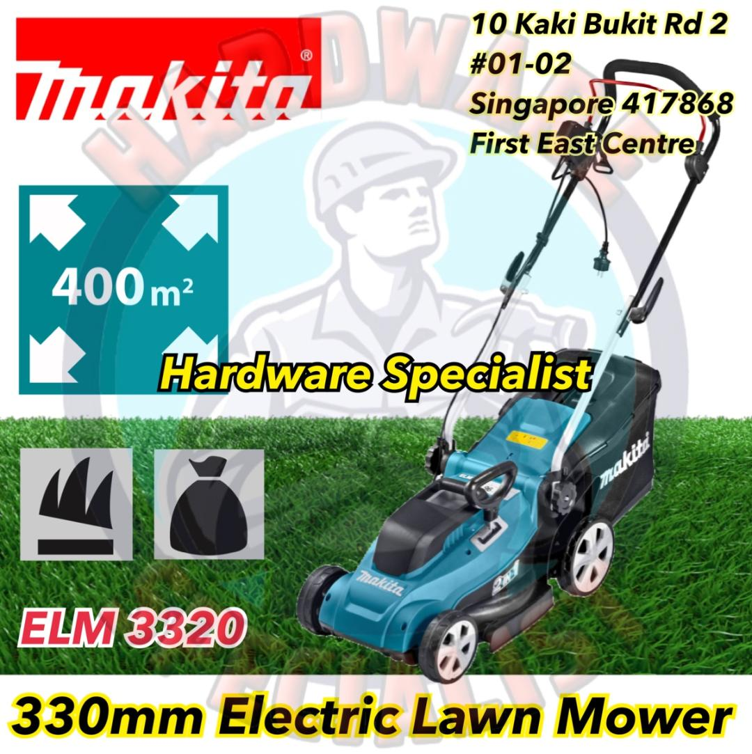 Makita ELM 3320 330mm Electric Lawn Mower