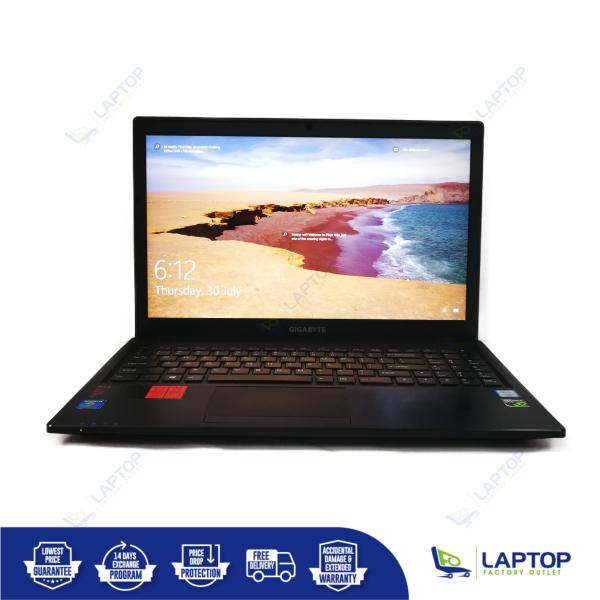 GIGABYTE P15FV5 GTX950M (i7-6 / 8GB / 512GB) [Premium Preowned] Refurbished